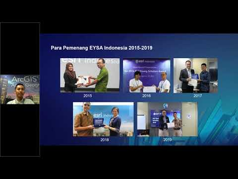 From Indonesia Goes To San Diego  Esri Young Scholar Award Journey