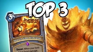NEW RAGNAROS - Top 3 Hearthstone Cards (Fan Made)