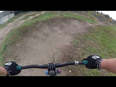 GoPro Hero2 pump track footage.