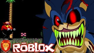 THE SONIC GAME. EXE IN ROBLOX *MUCH MIEDO* 😱😰 SONIC SERIES. EXE IN ROBLOX LEON PICARON