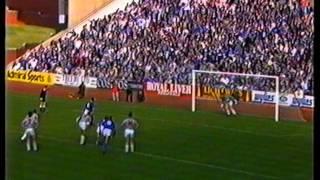 Rangers v St Mirren 24 Sept 1988