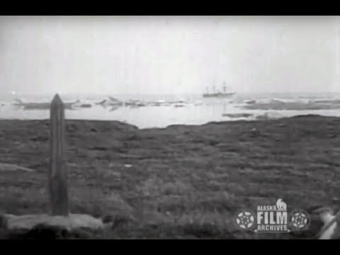 Alaska-Canada boundary line marker, 1921