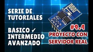 ESP8266 Tutorial Básico #9.4: Proyecto Servidor Local - Interfaz con JS y sevenSeg.js  - Parte4
