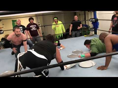 WWE MITB STYLE LADDER MATCH! GTS WRESTLING FRIDAY NIGHT MAIN