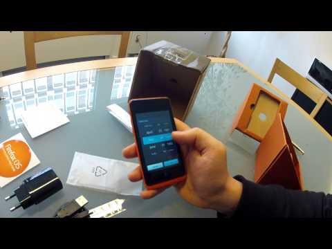 Firefox OS - GeeksPhone - Keon (GP-002) - unboxing