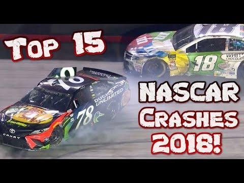 Top 15 NASCAR Monster Energy Cup Series Crashes 2018