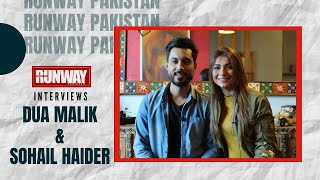 Dua Malik & Sohail Haider Couple Goals |Actors |DJ | Interview | Runway Pakistan