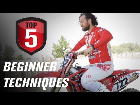 Top 5 Techniques for Beginner Riders w/ 722 Adam Enticknap