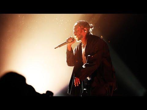 Kendrick Lamar: The Damn Tour Live Intro/DNA (Dunedin NZ)
