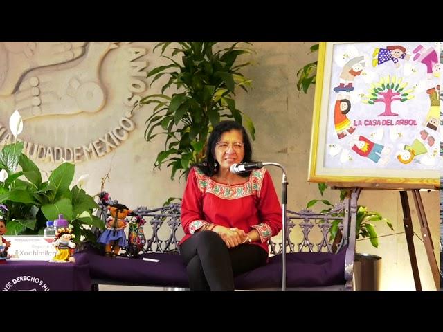 Discurso de Nashieli Ramírez, en presentación de Infancias Encerradas, Alcaldía Xochimilco