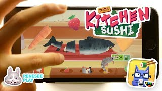 New Cooking Game! Toca Kitchen Sushi