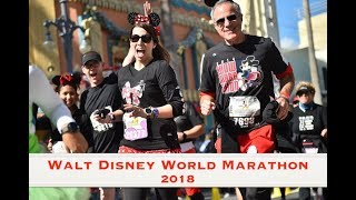 2018 Walt Disney World Marathon Recap