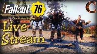 Fallout 76 PC Live Stream in 1440p / 60fps! Part 24: Joining the Enclave! And Strategy / Tips