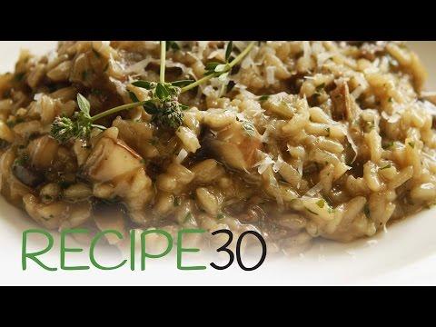 Perfect Mushroom Risotto - By RECIPE30.com