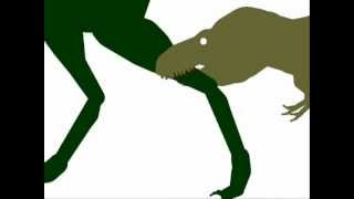 ASDC - Nanotyrannus vs Tyrannosaurus Rex