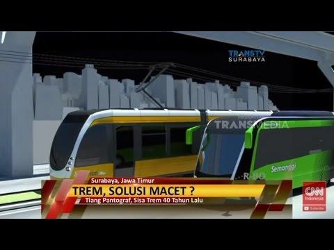 Kereta Listrik, Solusi Macet di Surabaya?