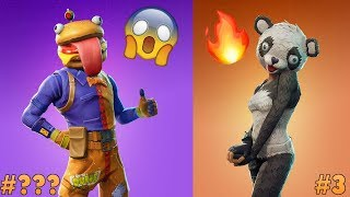 Ranking Every NEW Leaked Fortnite Battle Royale Skins! | Durr Burger Man, Galaxy, Panda, & More