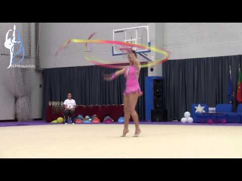 Sofia Aguirre - Club Campus-Santiago (CHI) - Fita (Ribbon) - Senior Elite - Summer Stars 2014