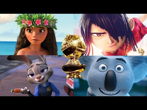 Thumbnail: 2017 Golden Globes Nominees Best Motion Picture - Animated