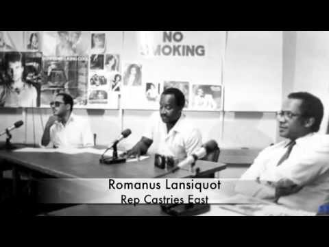 THE FALLEN OF THE UNITED WORKERS PARTY SAINT LUCIA