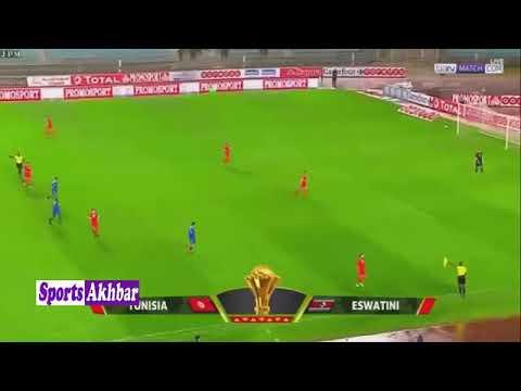 Tunisie vs Swaziland 4-0 (22/03/19)