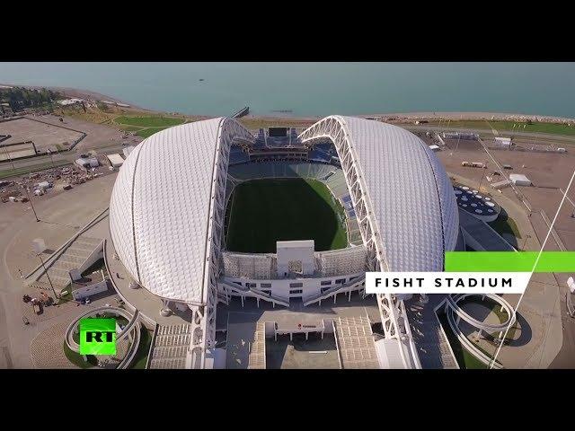 Confederations Cup: Fisht Stadium in Sochi