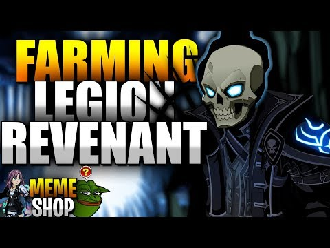 Legion Revenant CLASS (tier 2 Darkcaster) is Out BEST Farming Class in AQW!