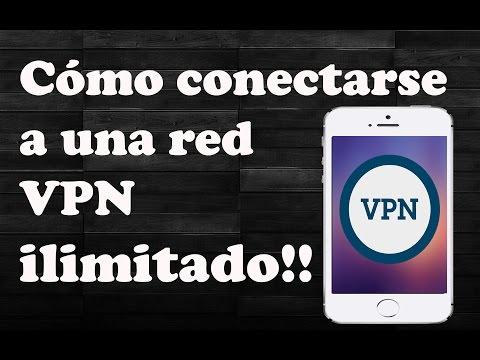 Como conectarse a red vpn
