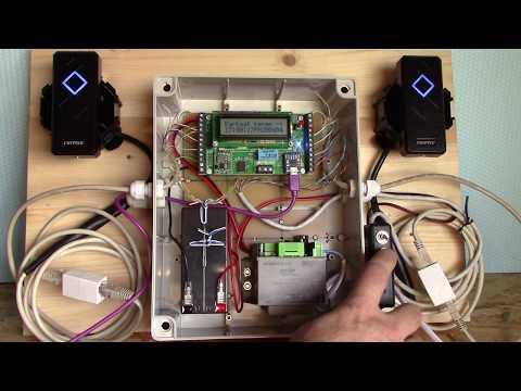 RFID Kártyás beléptető rendszer 2