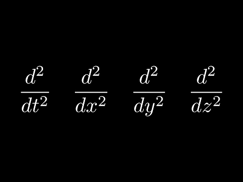 An Ode to the Second Derivative