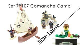 79107 Comanche Camp - Lego Lone Ranger Time Lapse (german/deutsch)