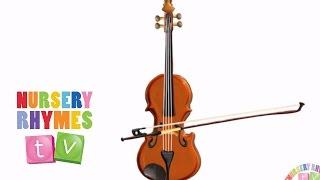 *VIOLIN*   Musical Instruments   Nursery Rhymes TV   Music For Kids