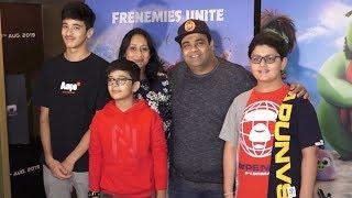 Kiku Sharda With His CUTE Family Watching Angry Birds 2 Movie