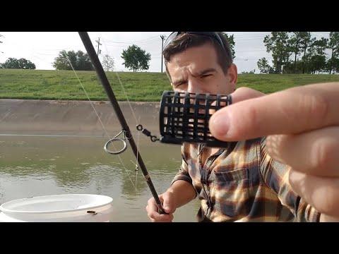 Houston's Best Kept Fishing Secret, Part 5: Cage Feeder Fishing