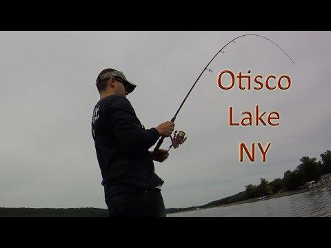 PA Bass Casters Otisco Lake NY Fishing Tournament Practice Day