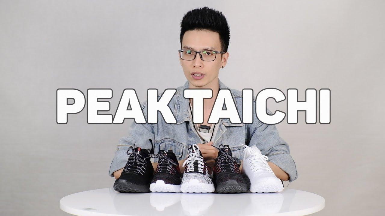 Review đôi giày rất hot thời gian gần đây : PEAK Taichi