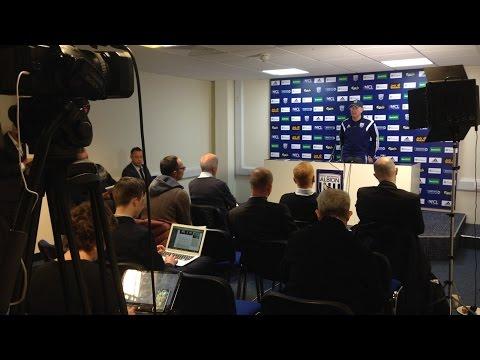 PRESS CONFERENCE   Tony Pulis previews Albion's Premier League trip to Arsenal