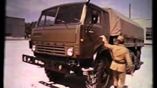 Устройство и ТО автомобиля КАМАЗ 4310 часть 4