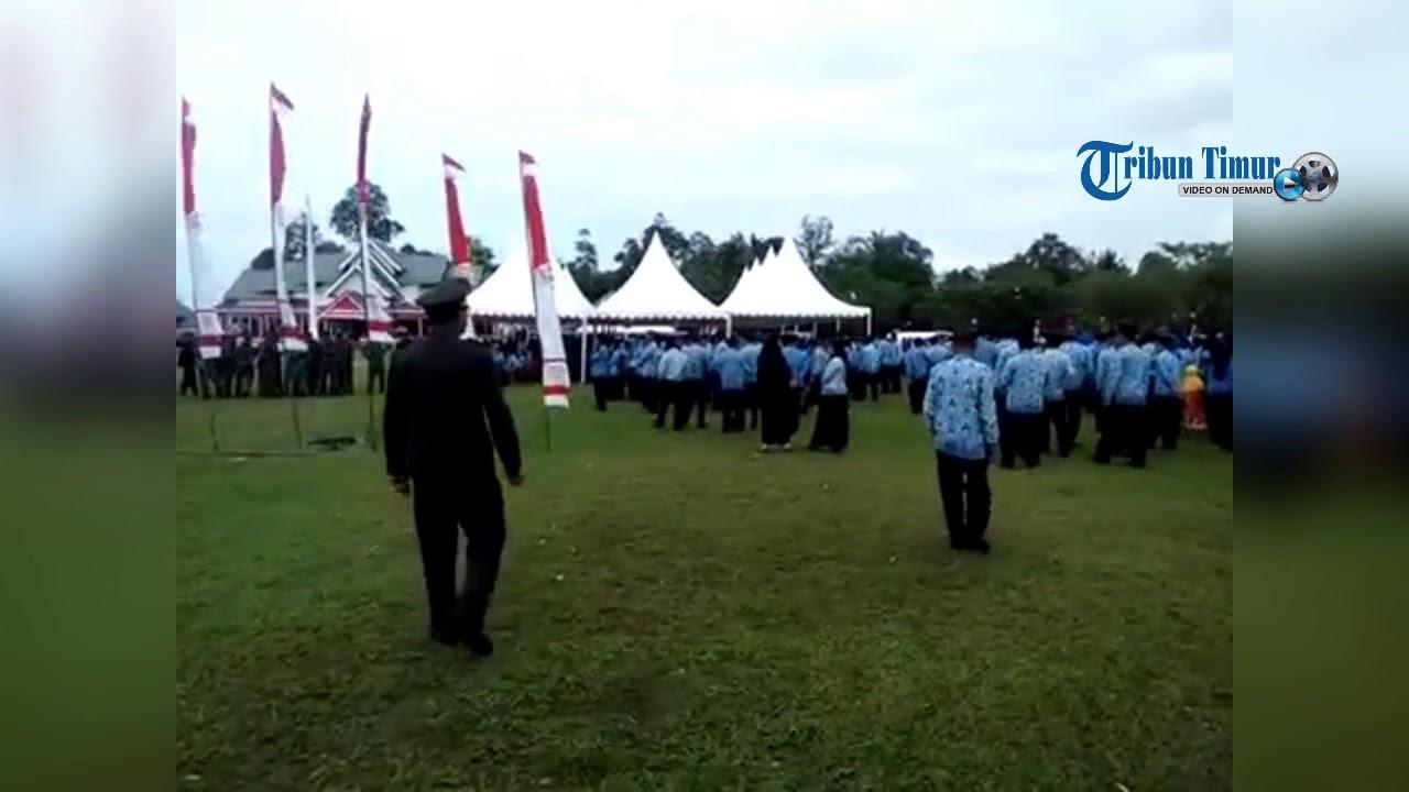 Perwira TNI Semprot Ratusan PNS saat Upacara Kemerdekaan RI