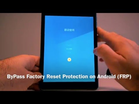Bypass Factory Reset Protection on any Android device - 4mobiles net