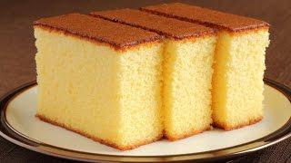 طريقة عمل الكيكه الاسفنجيه في مطبخ ميني