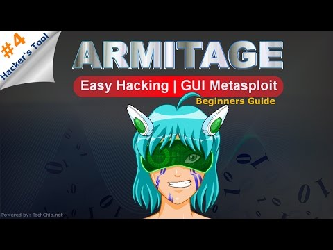 [Hindi] What is Armitage Tool | GUI Metasploit | Beginners Guide of Armitage tool