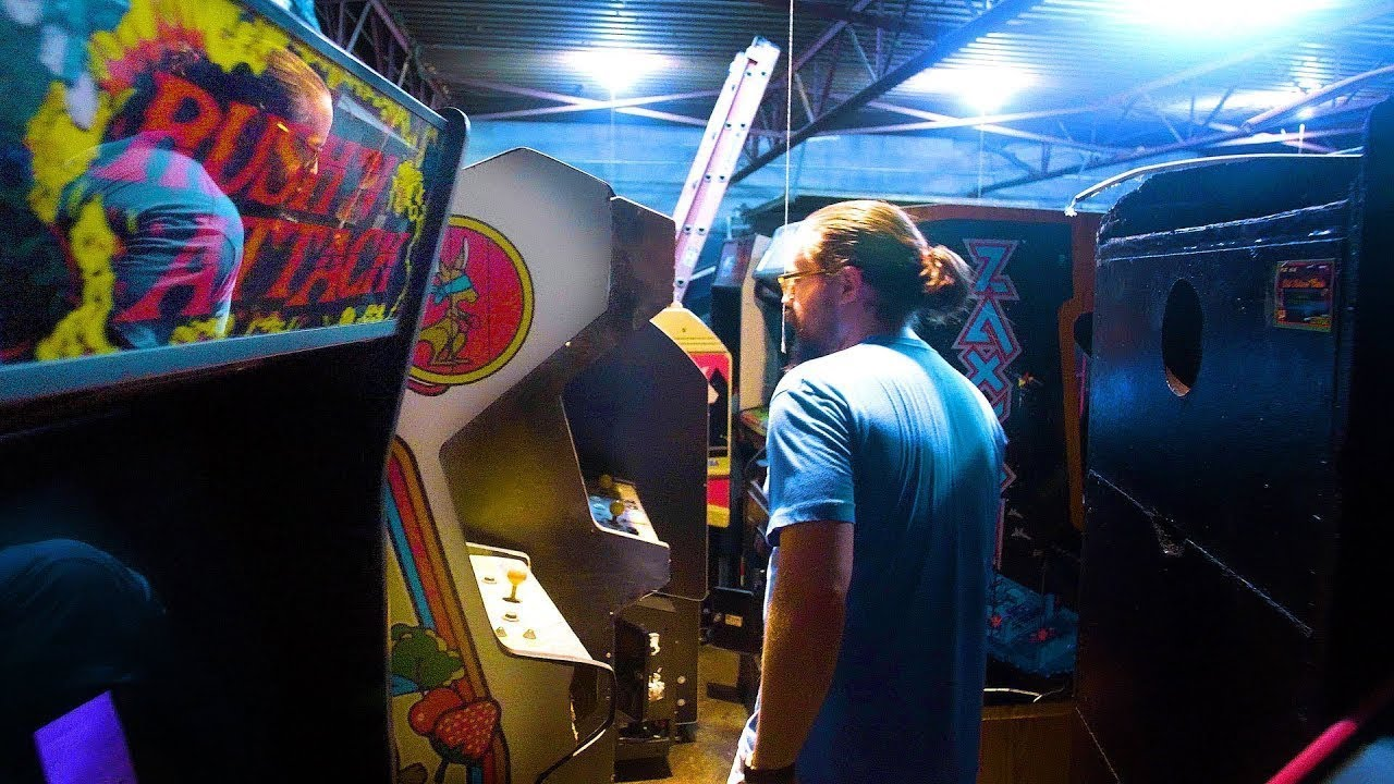 World's Biggest Private Arcade Game Collection Pt  3! - DEEP