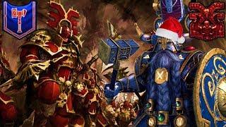 Belegar and the Very Khornate Christmas! - GET ZE FLAMMENWERFER - Dwarfs vs. Chaos