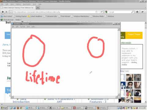 Selenium Training - Day 1 - Selenium Tutorial