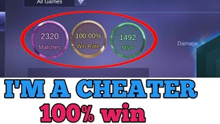 I'm a cheater? | MOBILE LEGENDS CHEAT | MOBILE LEGENDS BANG BANG