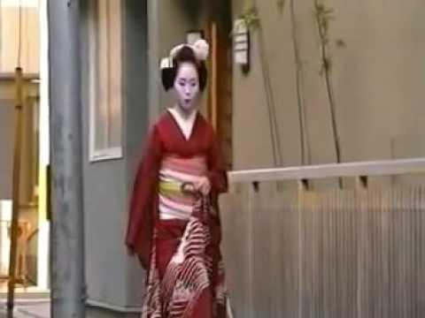 Maiko or trainee Geisha Being Dressed Full Version