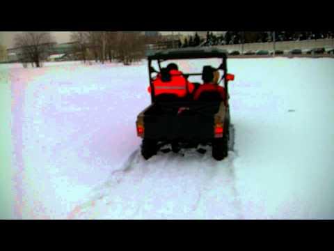 Квадроцикл Stels UTV-500h по льду и по сугробам