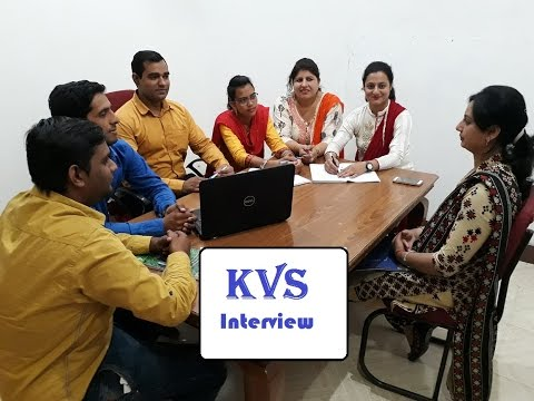 kvs interview in hindi