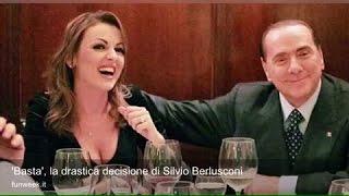 'Basta', la drastica decisione di Silvio Berlusconi